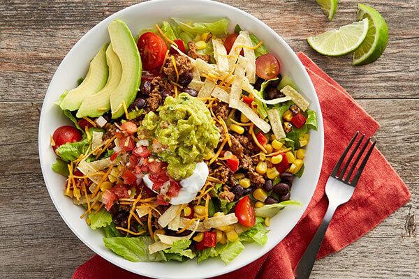 An avocado salad