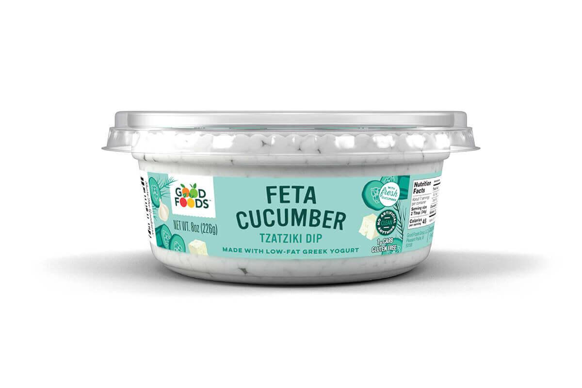 Feta Cucumber Tzatziki Dip
